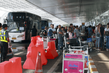 Transportasi Dari Phuket International Airport ke Pusat Kota Phuket
