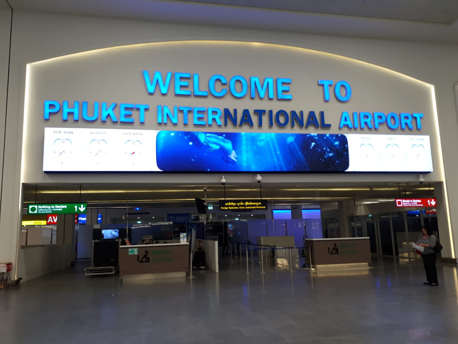 Fasilitas yang Terdapat di Phuket International Airport