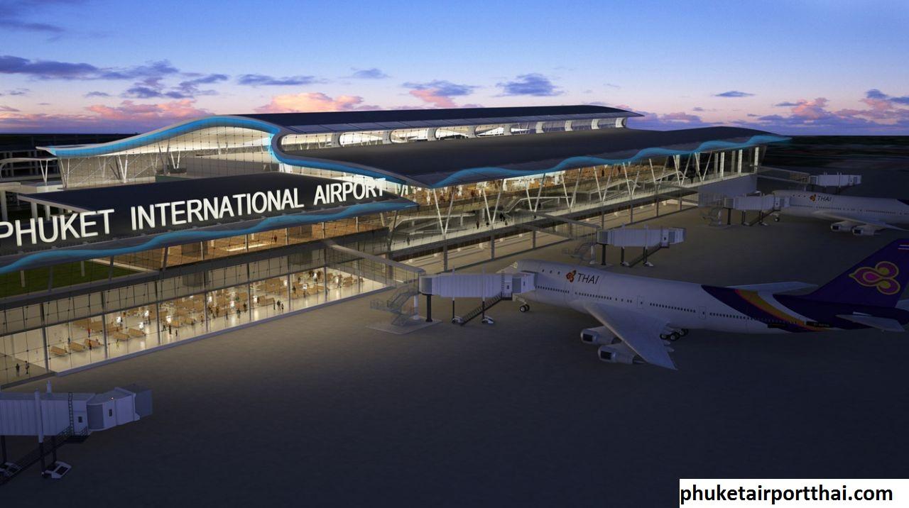 Mengulas Bandar Udara di Bandara Internasional Phuket Thailand