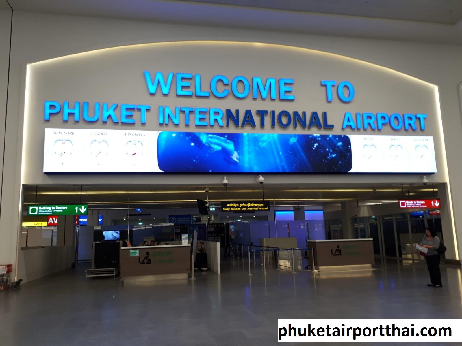 Mengulas Organisasi di Bandara Phuket Thailand Penyedia Layanan Penerbangan