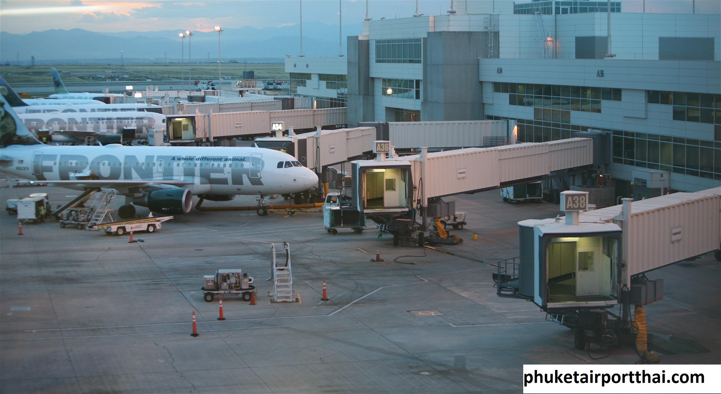 Jet bridge, Konektor Penumpang di Bandara Internasional Phuket Thailand