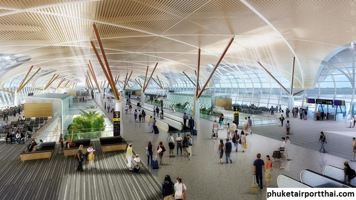Yuk Intip Desain Modern Dari Bandara  Internasional Phuket Thailand